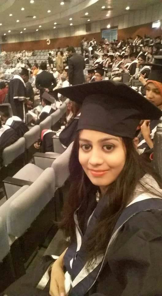 23 year old Thari girl at her convocation