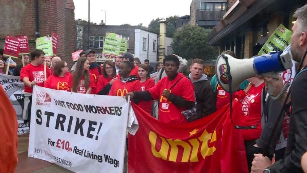 Strikes in Britain