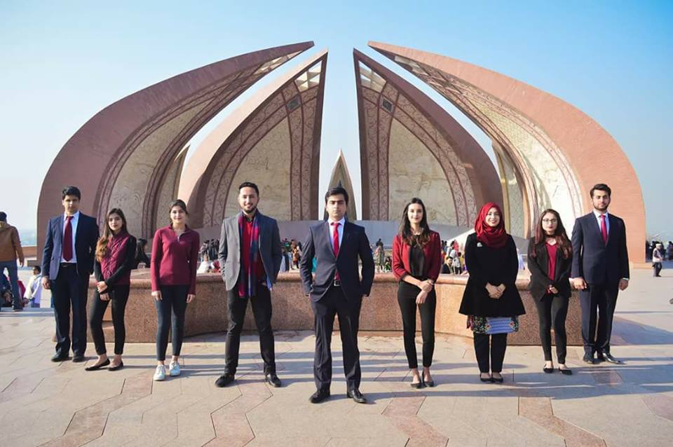 Photo shoot of NUST students