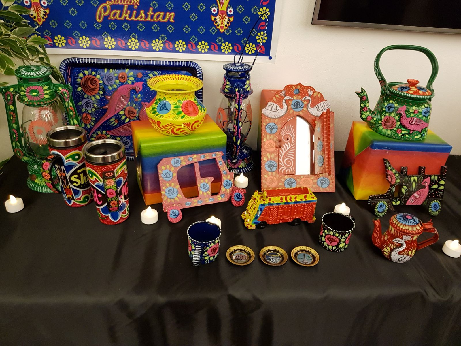 Pakistan Truck Art Exhibition 2018 in Stockholm, Sweden