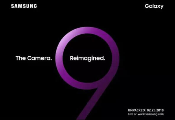 Samsung-Galaxy-S9 invite