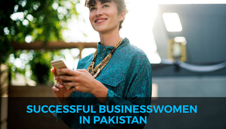 Successful business women in Pakistan