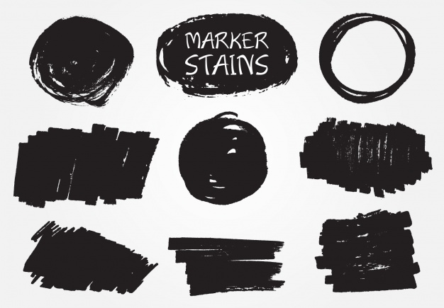 marker stains