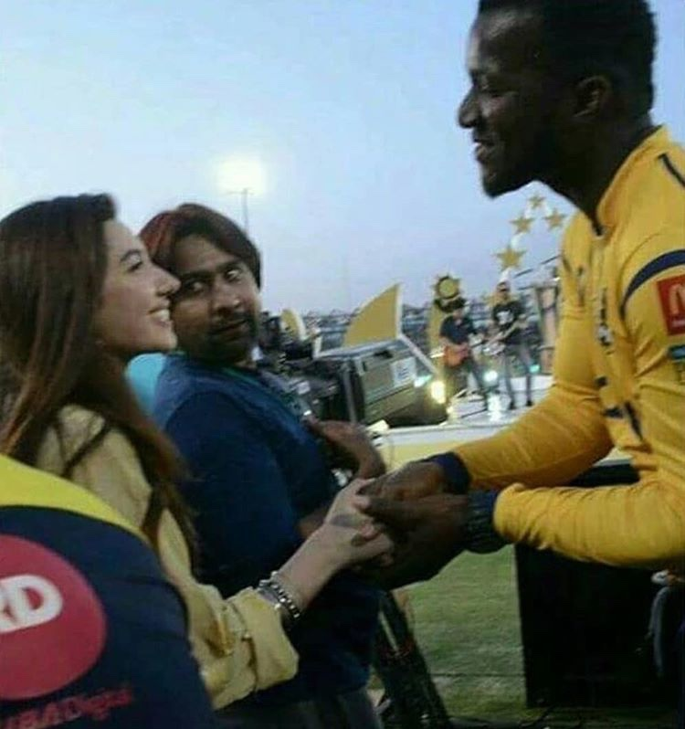 Celebrities at PSL
