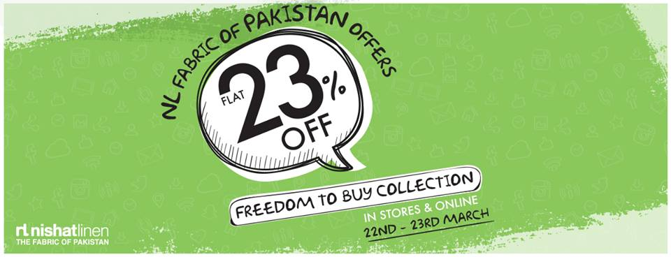 Pakistan Day Sales