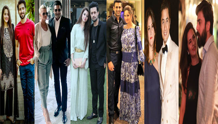 Stylish celebrity couples pf Pakistan