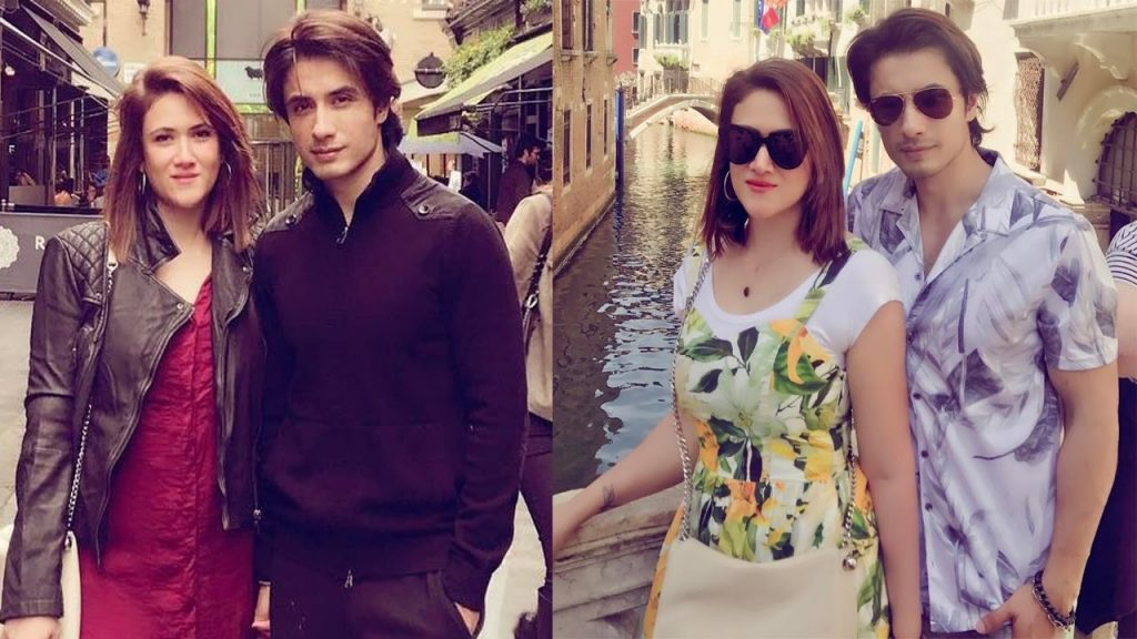 Ali Zafar and Ayesha