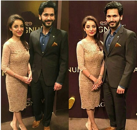 Sarwat gillani and fahad