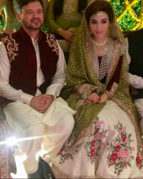 Aisha Khan Wedding Pictures
