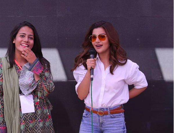 Sohai Ali Abro in Karachi University