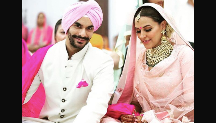 Neha Dhupia Wedding