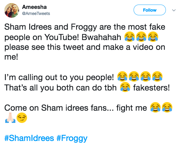 Sham Idrees, Queen Froggy & Ducky Bhai