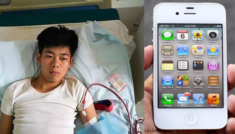 chinese man sold kidney for ipad