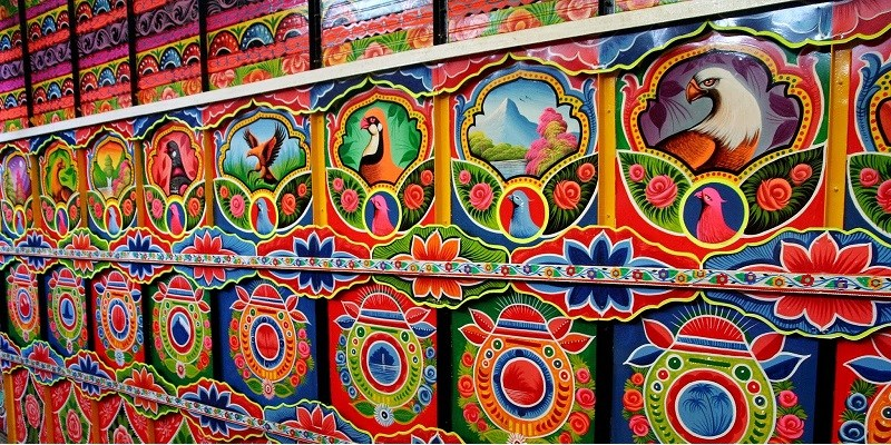 Pakistan Truck Art in Sweden
